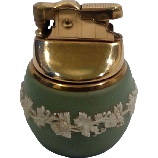 Vintage Wedgwood Jasperware Table Lighter