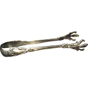 "Sterling ""Chantilly"" by Gorham Sugar Cube Tongs"