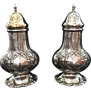 "Sterling ""Francis I"" by Reed & Barton Salt and Pepper Set"