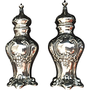"Sterling ""Chantilly"" by Gorham Salt and Pepper Set"
