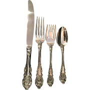 "Sterling ""Sir Christopher"" by Wallace Four-Piece Place Setting"