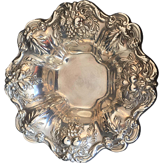 "Sterling ""Francis I"" by Reed & Barton individual nut dish"