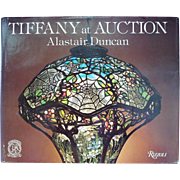 Rare Tiffany At Auction Book - Red Tag Sale Item