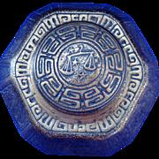 Tiffany Studios Bronze Zodiac Hexagonal Inkwell