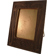 Tiffany Studios Bronze Chinese Pattern Picture Frame