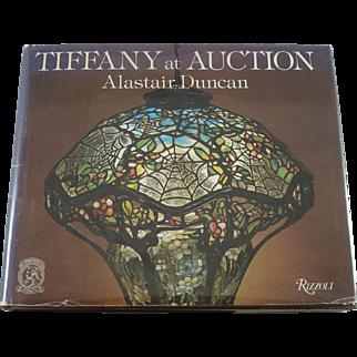 Rare Tiffany Studios Bronze Favrile Glass At Auction Book