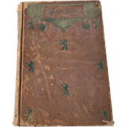 Hiawatha Henry Wadsworth Longfellow 1898 Minehaha Edition Leather Song Of