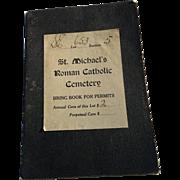 St Michael's Roman Catholic Cemetery Association Bridgeport Connecticut 1949 Booklet