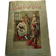 Cinderella Triumph Edition Wilmsen Philadelphia Germany POP-UP Book Chromolithograph Honeycomb Tissue