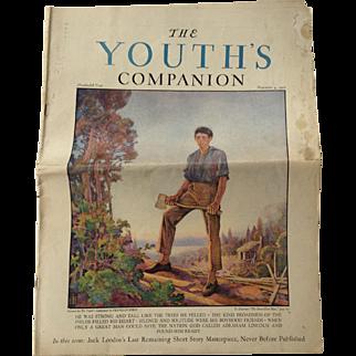 Jack London Youth's Companion November 4, 1926