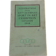 Illustrations from the XIVth Olympiad Sport In Art Exhibition London 1948