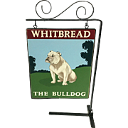 Whitbread Advertising Counter Top Sign