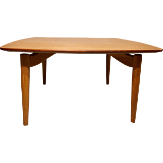 Mid-Century Modern Danish Teak Square Coffee Table