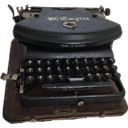 Antique Portable The Empire Typewriter