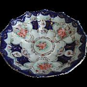 Beautiful 1800s Unsigned Royal Nippon Large Cabinet Display Bowl All Original