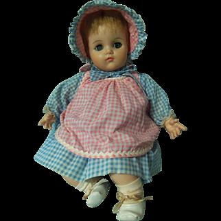 "Vintage 20"" Madame Alexander ""Baby Lynn"" - All Original"