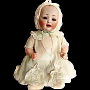 """Early 1900's Antique 12"""" Hertel & Schwab Character Baby #151"""