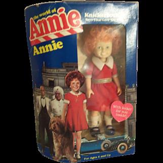 "Vintage Knickerbocker 6"" Little Orphan Annie Doll in Box"
