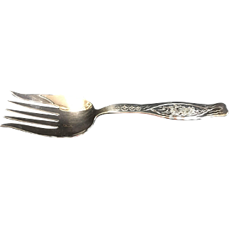 Whiting: Sterling Silver Fork - Dandelion Pattern
