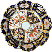 Royal Crown Derby Imari 2451 Candy Dish C. 1911