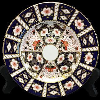 "Royal Crown Derby Imari 2451 10 1/2"" Dinner Plates"