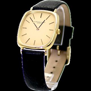 Men's Vintage 1974 Audemars Piguet Classic Dress Watch in 18 Karat Gold