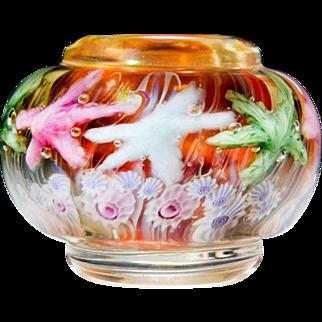Lundberg Studios 1995 starfish petite jewelry jar, by Daniel Salazar.