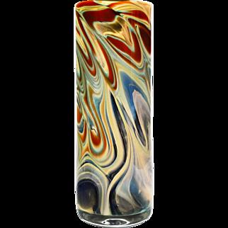 Peter Layton Chalcedony large cylinder vase.