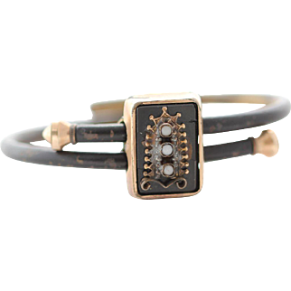 Antique Mourning Bracelet
