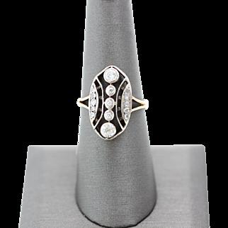 European Vintage Diamond Ring