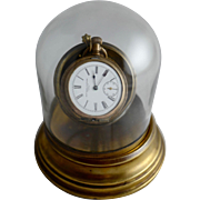Glass Dome for a Pocket Watch (Comes with pictured pocket watch)