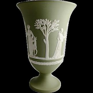 Wedgwood Jasperware Beaker Vase