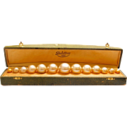 Delettrez String of Pearls, Strand of Pearls, or Parfum XXIII Vintage Perfume Bottles with Presentation Box