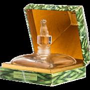 Vintage Commercial Perfume Bottle D'Orsay Toujours Fidele c.1920 France