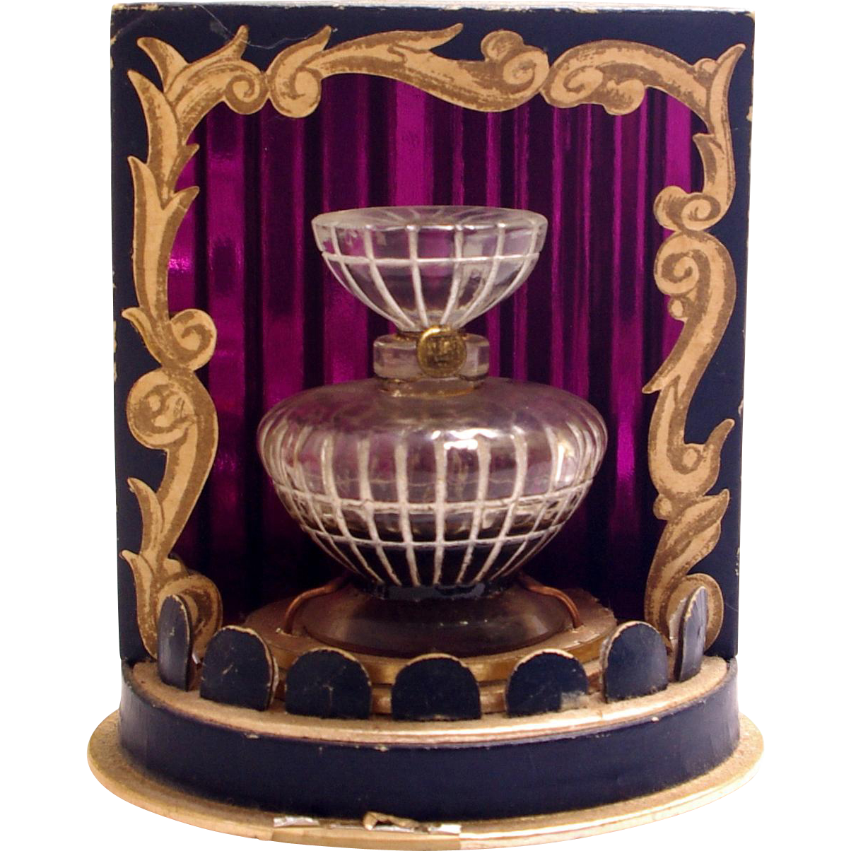 Vintage Commercial Perfume Bottle Lucien Lelong Opening Night From Augustseptemberantiques On Ruby Lane