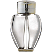 Sampson Mordan Silver Mounted Two Chambered Scent Bottle English c.1871