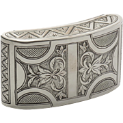 Austrian Silver Snuff Box c.1815