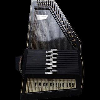 Vintage Auto Harp by Oscar Schmidt