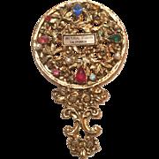 Vintage souvenir mirror from universal studios ca