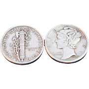 Mercury Dime Coin Jewelry
