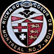 Knights Templar Helmsley Montreal Richard Coeur Sarnia
