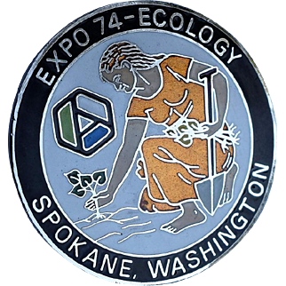 Expo 1974 Exposition Ecology Medallion