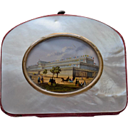 Mother of Pearl Crystal Palace Coin Purse