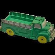 Auburn Rubber Company Green Delivery Truck