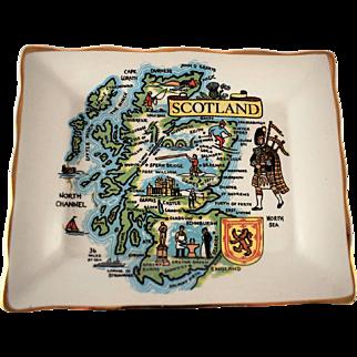 Vintage Royal Falconware Dish Scotland