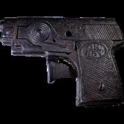 Kilgore 1933 Oh Boy Rare Crank Cast Iron Cap Gun