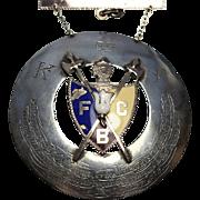 Knights of Pathias Silver Award Presentation