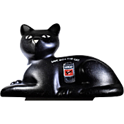 Union Carbide Eveready Battery Black Cat Bank