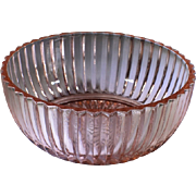 Depression Glass Queen Mary Pink Bowl