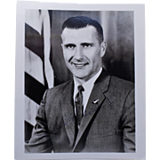 Astronaut Richard Gordon Photo With Original Signature